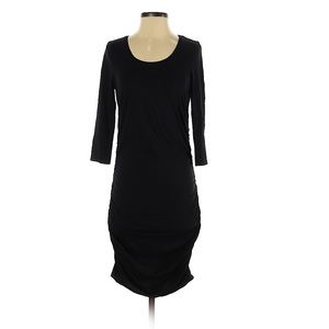 Express Ruched black Dress